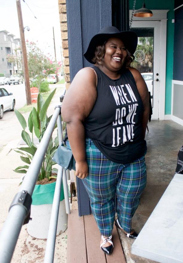 plus-size-plaid-pants