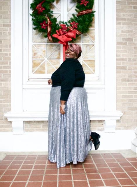 chirtmas-plus-size-skirt